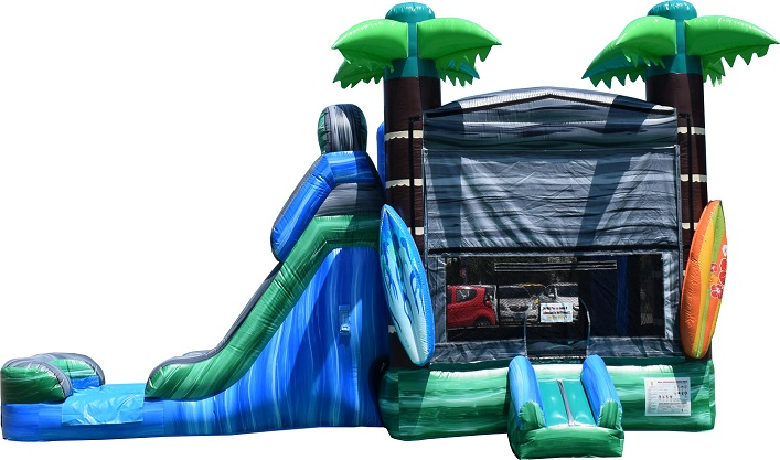 Rent a bounce house water slide combo in Fort Myers FL