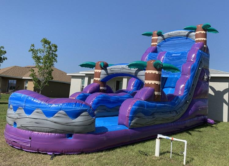 Tropical Rush - Water Slide Bounce House Rental